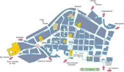 Mapa do Pelourinho
