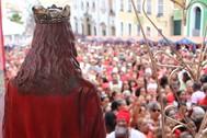 Festa de Santa Bárbara leva milhares de devotos ao Pelourinho
