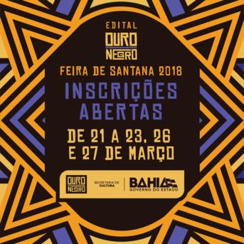 Inscrições abertas para o Ouro Negro Feira de Santana 2018