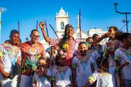 Carnaval Ouro Negro fortalece entidades de matriz africana nos três circuitos da folia