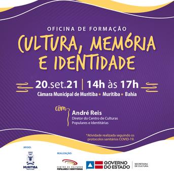 Oficinas de formação Cultura, Memória e Identidade