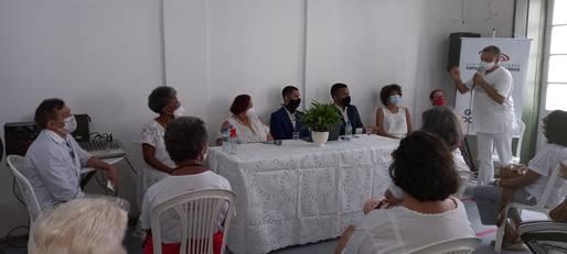 O evento voltado para integrantes do grupo (até 25 pessoas), apresentou o Painel -  Cultura e Direito da Pessoa Idosa.